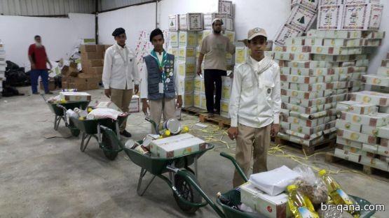 جمعية البر بقنا توزع 500 سلة رمضانية و 1900 بطاقة سنابل الخير